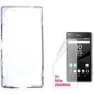 CONNECT IT S-Cover Sony Xperia Z5 Compact čiré - Ochranný kryt