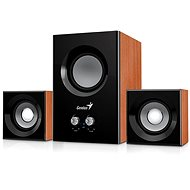 Genius SW-2.1 375 barva dřeva - Reproduktory