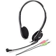 Genius HS-200C Dual Jack - Sluchátka s mikrofonem