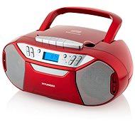 Hyundai TRC 333 AU3BTR červený - Radiomagnetofon