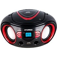Hyundai TRC 533 AU3BR černo-červený - Radiomagnetofon