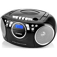 Hyundai TRC 788 AU3BS black and silver - Radio Recorder