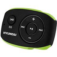 Hyundai MP 312 4GB černo-zelený - MP3 přehrávač