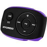 Hyundai MP 312 8GB černo-fialový - MP3 přehrávač