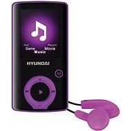 Hyundai MPC 883 FM 16GB fialová - MP4 přehrávač