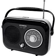 Hyundai PR 100 Retro černý - Rádio