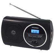 Hyundai PR 570 PLLU B černé - Rádio