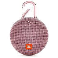 JBL Clip 3 růžový - Bluetooth reproduktor