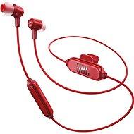 JBL E25BT červená - Sluchátka s mikrofonem