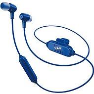 JBL E25BT modrá - Sluchátka s mikrofonem