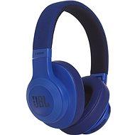 JBL E55BT modrá - Sluchátka s mikrofonem