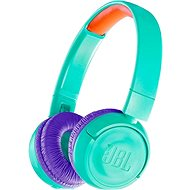 JBL JR300BT modro-zelená - Bezdrátová sluchátka