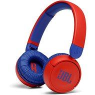Bezdrátová sluchátka JBL JR310BT červená