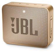 Bluetooth reproduktor JBL GO 2 champagne