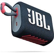 Bluetooth reproduktor JBL GO 3 blue coral