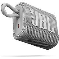 JBL GO 3 bílý - Bluetooth reproduktor