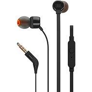 JBL T110 černá - Sluchátka s mikrofonem