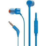 JBL T110 modrá - Sluchátka s mikrofonem