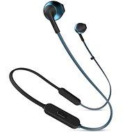 JBL T205 BT modrá - Sluchátka s mikrofonem