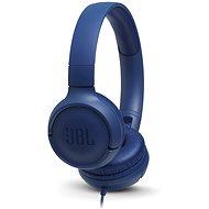 JBL Tune500 modrá - Sluchátka s mikrofonem