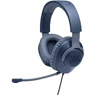 JBL Quantum 100 modrá - Herní sluchátka