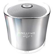 Creative Woof 3 Winter Chrome - Bluetooth reproduktor