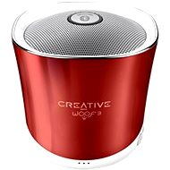 Creative Woof 3 Rouge Red - Bluetooth reproduktor