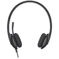 Logitech USB Headset H340 - Sluchátka s mikrofonem
