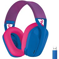 Logitech G435 LIGHTSPEED Wless Gaming Headset, Blue