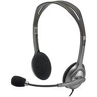 Logitech Stereo Headset H111 - Sluchátka s mikrofonem