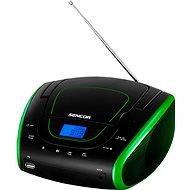 Sencor SPT 1600 černo-zelená - Radiomagnetofon