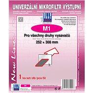 Univerzální výstupní filtr M1 (252 mm × 308 mm) - Filtr do vysavače