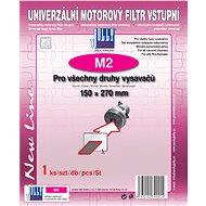 Univerzální vstupní filtr M2 (150 mm × 270 mm) - Filtr do vysavače