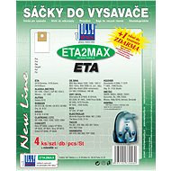 Sáčky do vysavače ETA2 MAX - textilní