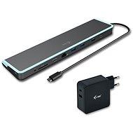 I-TEC USB-C Flat dokovací stanice s Power Delivery 60W + I-TEC univerzální nabíječka 60W - Dokovací stanice