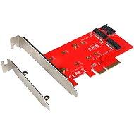 I-TEC PCI-E 2x M.2 Card (PCI-E/SATA)  - Řadič