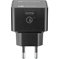 Cellularline Power Delivery (PD) max. 30 W Qualcomm® Quick Charge™ 4+ černá