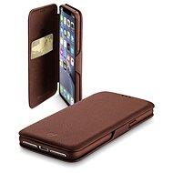 CellularLine Book Clutch pro Apple iPhone XR hnědé - Pouzdro na mobilní telefon