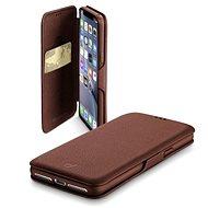 CellularLine Book Clutch pro Samsung Galaxy S10 hnědé - Pouzdro na mobilní telefon