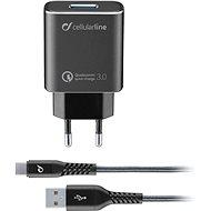 Cellularline Tetra Force USB-C 18W černá - Nabíječka