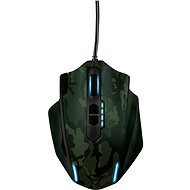Trust GXT 155C Gaming Mouse - Green camouflage - Myš