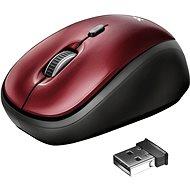 Trust Yvi Wireless Mouse, červená