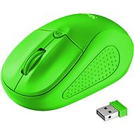 Trust Primo Wireless Mouse neon green - myš