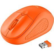 Trust Primo Wireless Mouse neon orange - myš