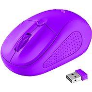 Trust Primo Wireless Mouse neon purple - myš