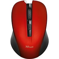 Trust Mydo Silent Click Wireless Mouse - Red - Mouse