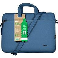 "Trust Bologna Laptop Bag 16"" ECO - modrá"
