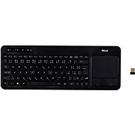 Trust Veza Wireless Touchpad Keyboard CZ+SK