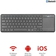 Trust Mida Wireless Bluetooth Keyboard with XL touchpad - Klávesnice