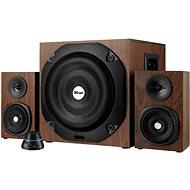 Trust Vigor 2.1 Subwoofer Speaker Set - hnědé dřevo